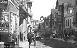 Winchester, High Street 1914