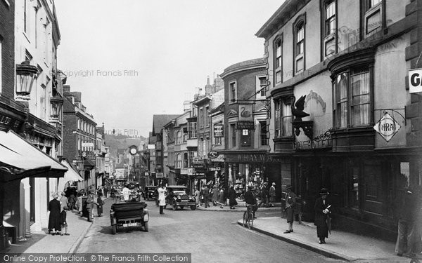 Photo of Winchester, High Street 1928