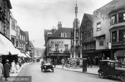 Winchester, High Street And Buttercross 1928