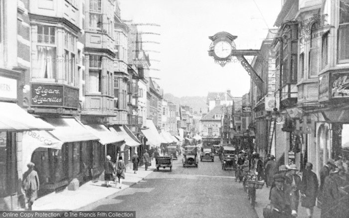 Photo of Winchester, High Street c.1925