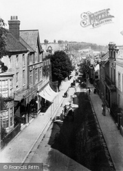 Winchester, High Street From Westgate 1906
