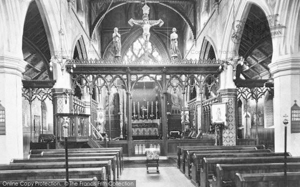 Photo of Winchester, Holy Trinity Church 1910