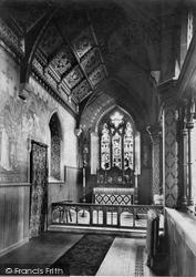 Winchester, Holy Trinity Church, Chapel 1910