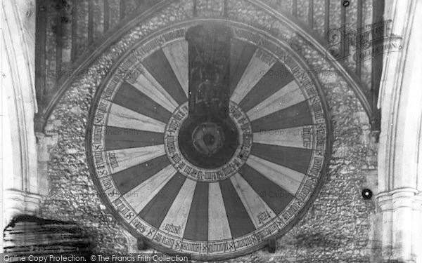 Photo of Winchester, King Arthur's Round Table 1907