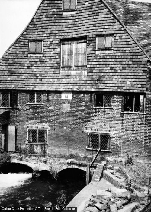 Photo of Winchester, Mill c.1950