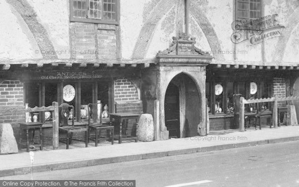 Photo of Winchester, Old Chesil Rectory, Antique Shop 1928