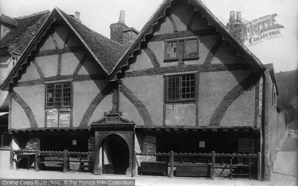 Photo of Winchester, Oldest House (Old Chesil Rectory) 1896