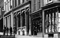 Winchester, Shops In The High Street 1896