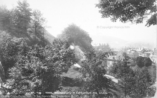 Photo of Winchester, St Catherine's Hill 1899