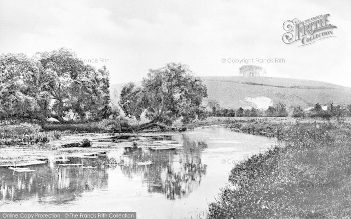 Photo of Winchester, St Catherine's Hill c.1900