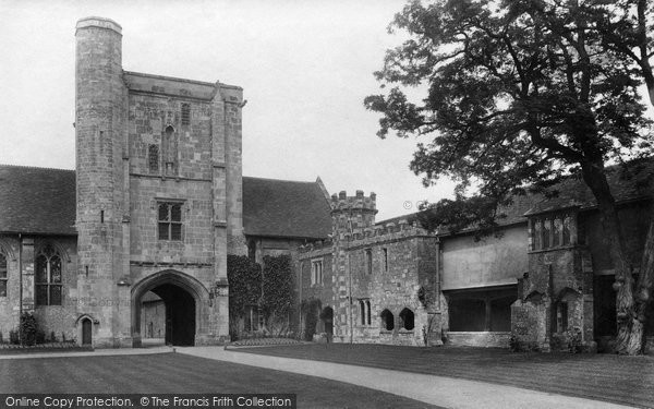 Photo of Winchester, St Cross 1909