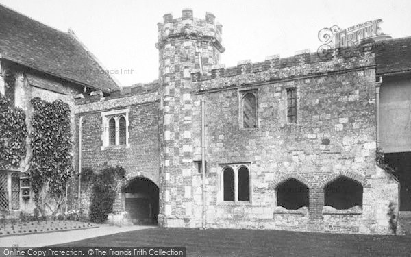 Photo of Winchester, St Cross Ambulatory 1909