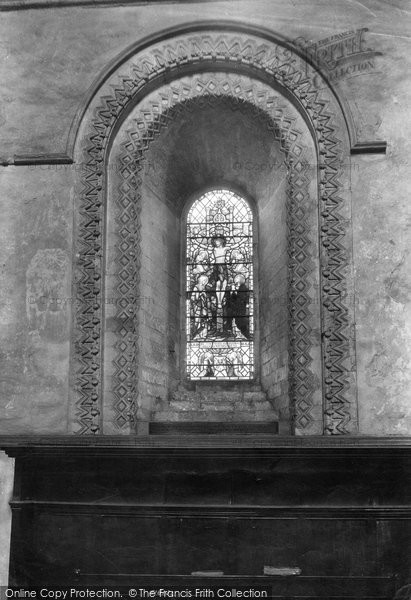 Photo of Winchester, St Cross, Birds Window 1909