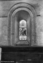 St Cross, Birds Window 1909, Winchester
