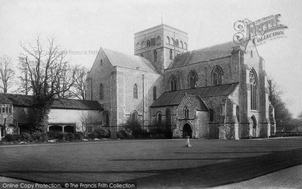 Photo of Winchester, St Cross Church 1896