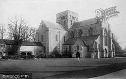 Winchester, St Cross Church 1896