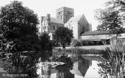Winchester, St Cross Church 1906