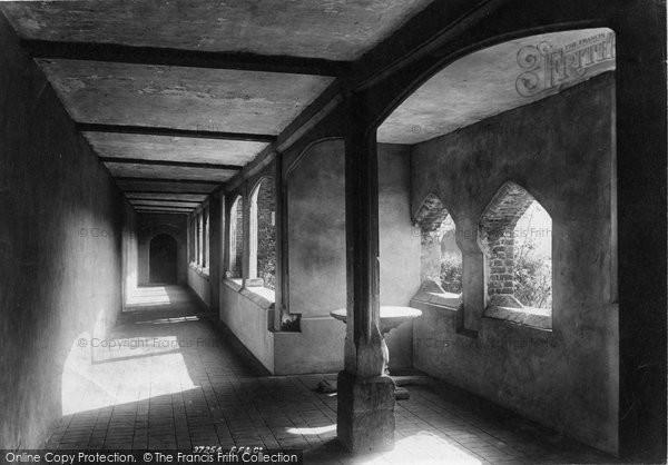 Photo of Winchester, St Cross Hospital, Ambulatory 1896