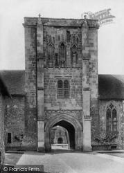 Winchester, St Cross Hospital, Beaufort Tower 1906
