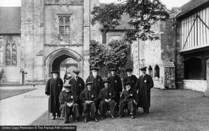Photo of Winchester, St Cross Hospital, The Brethren 1928
