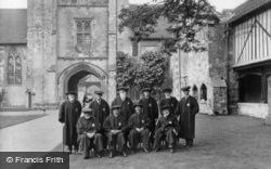 Winchester, St Cross Hospital, The Brethren 1928