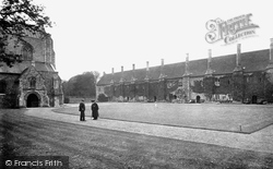 Winchester, St Cross Hospital, The Brothers Quarters 1919