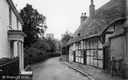 Winchester, St Cross Village 1919