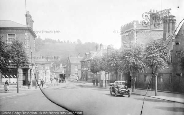 Photo of Winchester, St Giles Street And Bridge Street 1919