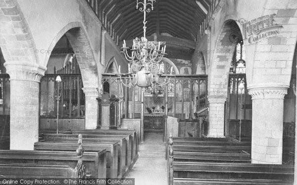 Photo of Winchester, St John's Church Interior 1911