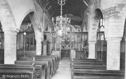 Winchester, St John's Church Interior 1911