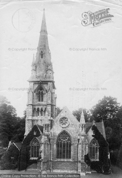 Photo of Winchester, St Thomas Church 1909