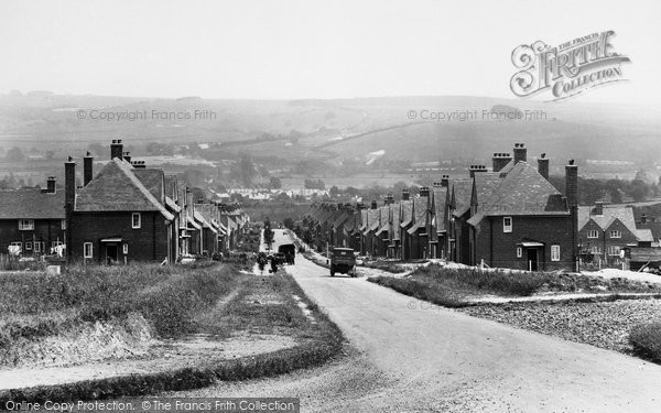 Photo of Winchester, Stanmore From Romsey Road 1928