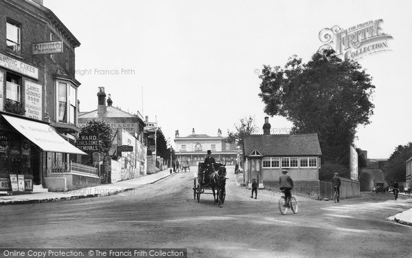 Photo of Winchester, Station Hill 1909