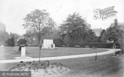 Winchester, The Abbey Grounds 1906