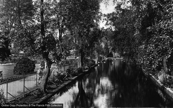 Photo of Winchester, The Abbey Grounds 1906