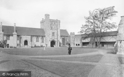 Winchester, The Ambulatory And Beaufort Tower, St Cross Hospital 1919