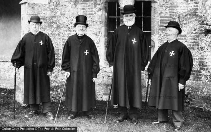 Winchester, The Brethren, St Cross Hospital 1906