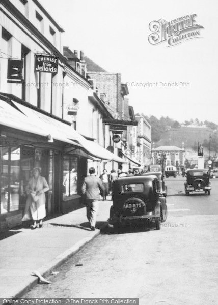 Photo of Winchester, The Broadway, Shops 1936