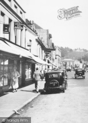Winchester, The Broadway, Shops 1936