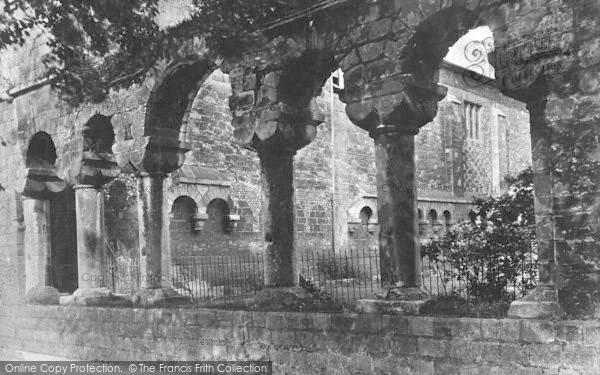 Photo of Winchester, The Cathedral Cloister Arches 1906