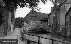 Winchester, The City Bridge c.1955