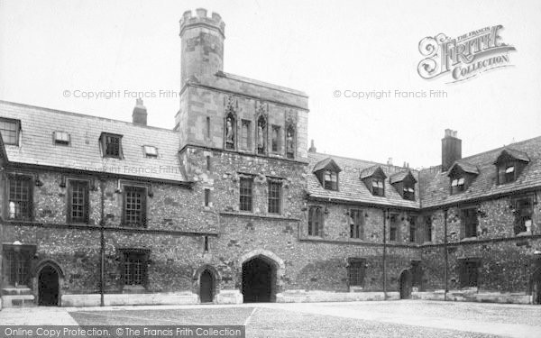 Photo of Winchester, The College Chamber Court 1909