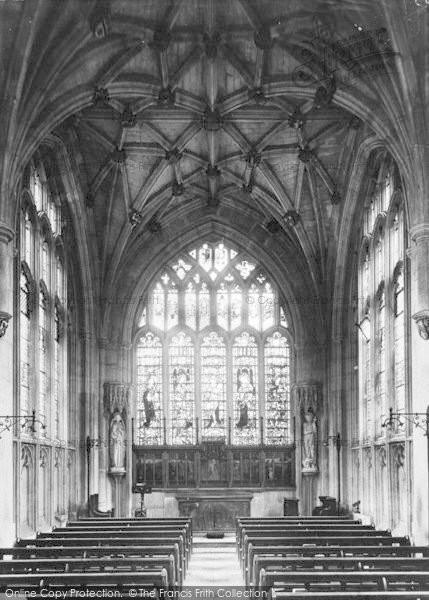 Photo of Winchester, The College Chantry 1910