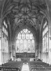 Winchester, The College Chantry 1910