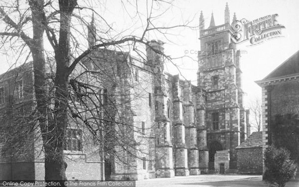 Photo of Winchester, The College, Chapel And School 1886