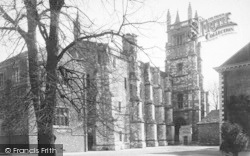 Winchester, The College, Chapel And School 1886