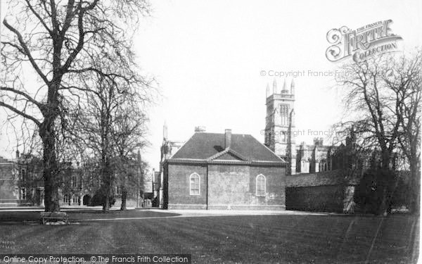 Photo of Winchester, The College From The Playground 1886