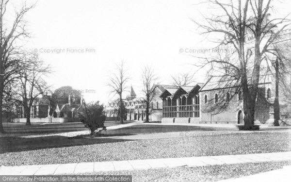 Photo of Winchester, The College Gymnasium And Hospital 1886