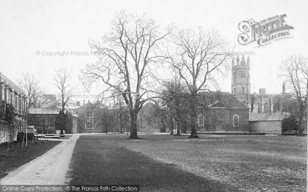 Photo of Winchester, The College Meads 1910