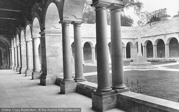 Photo of Winchester, The College, War Cloister 1925